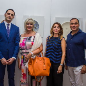 Picasso Exposition, Regent Hotel Porto Montenegro Mayor of Tivat, Exposition Curator and Minister