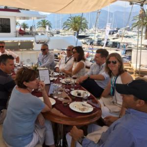 MYBA yacht agents lunch – Riana Yacht Porto Montenegro