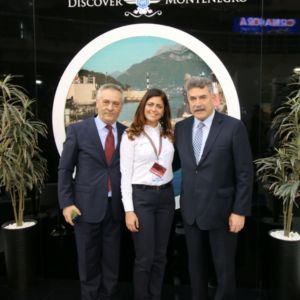 Belgrade Touristic Fair, with Corfu Mayor